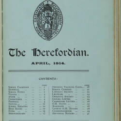 The Herefordian No 75_April 1914