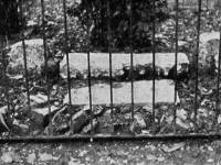 Nelson's mounting stone, St. Mary's churchyard, Merton