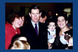 Charles, Prince of Wales, visit to Phipps Bridge Estate