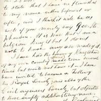 George Stephenson to JTW Bell p1