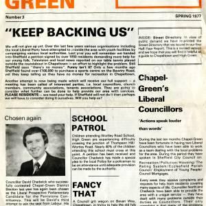 Chapel Green News Spring 1977.