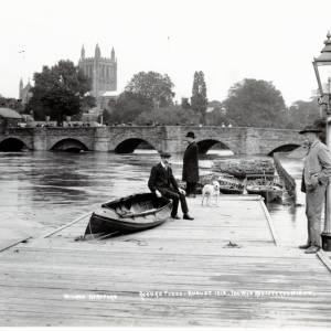 River Wye Flood, Hereford, 1912
