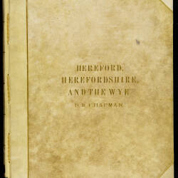 Hereford, Herefordshire and the Wye - D.R. Chapman