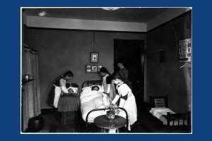 All Saints School, Wimbledon: Lessons in Housework