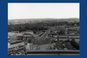 Aberconway Road, Morden: View from Crown House