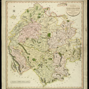 New Map of Herefordshire - John Cary 1801.jpg