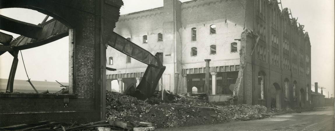 North Atlantic Laundry, bomb damage, Blitz