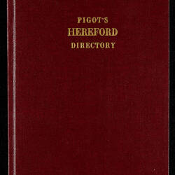 Pigot's Hereford directory