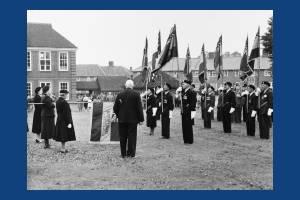 Dedication of the Women's Section British Legion Standard