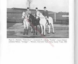 9th Lancers, 1955