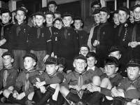 Scouts and Cubs Display at St. Barnabas Hall, Mitcham