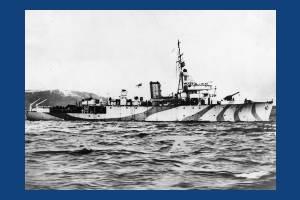 HMS Mutine, warship adopted by Mitcham