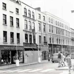 Hereford High Street, junction with High Town, 1961