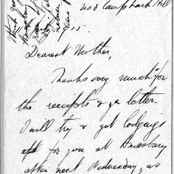 Ronald Craigie letters - 1915