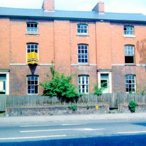 Residential Housing on Commercial Road, Hereford c1990