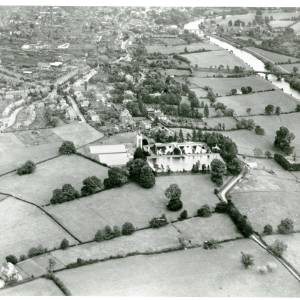 Broomy Hill Water Works, aerial view, 1929