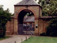 Morden Hall Park, Morden: Entrance to Stables Block