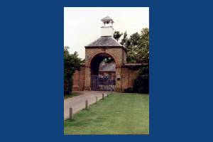 Morden Hall Park, Morden: Entrance to Stables Block