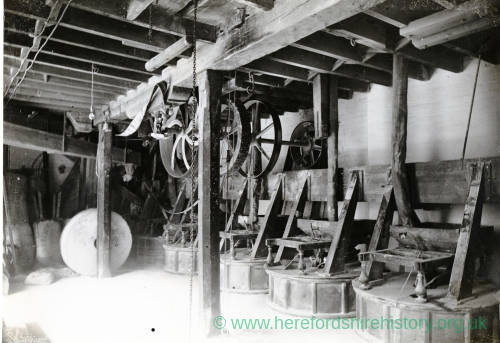 Hereford Imperial Mill - millstones