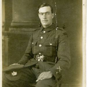 Lance Corporal Edgar Keeley portrait