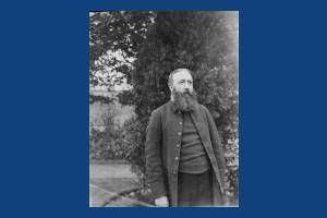 Reverend D F Wilson, Vicar of Mitcham Parish Church
