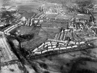 Phipps Bridge Site, Mitcham:  Aerial View