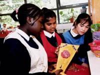 Ricards Lodge School, Wimbledon: Art and Design Lesson