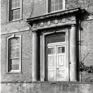 Aramstone House, south entrance, 1956