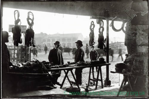 Rope stall, Hereford Cattle Market