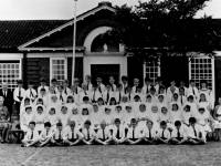 Sacred Heart School, students and staff portrait