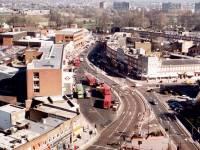 London Road, Morden: Aerial View Morden Centre