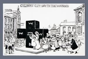 Children's Gift Day Postcard