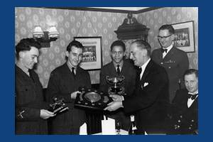 Air Training Corps:  Presentation of Benton Shield