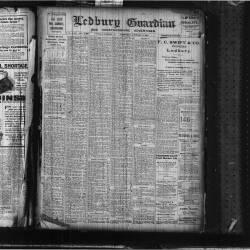 Ledbury Guardian 1919