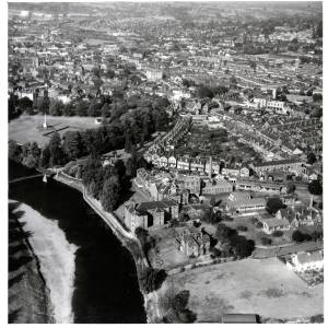 General Hospital, Hereford, aerial view, 1959