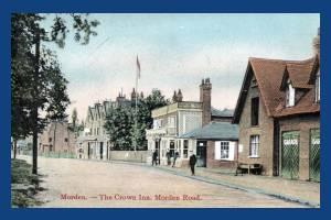 London Road: Crown Inn, Morden