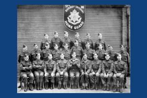 Battalion of sub- Artillery Platoon (Smith Guns) Nov.1944. Platoon 3