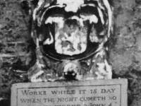 Rowland Wilson Almshouses; Inscription
