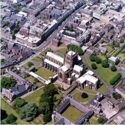 Aerial views of Hereford