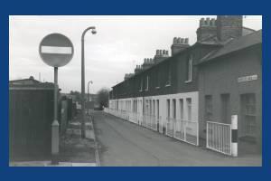 Ebenezer walk, Mitcham: Proposed council housing estate.