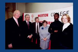 Merton College,  BBC Question Time