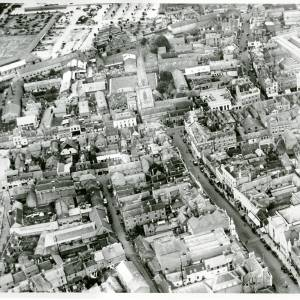 Broad Street, aerial view, 1929