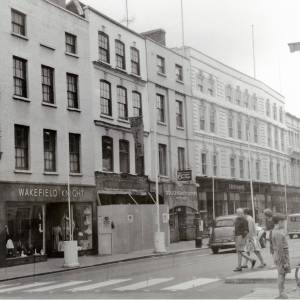 Hereford High Street Junction with High Town, 1961