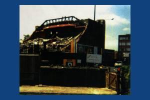 Demolition of Odeon Cinema, Morden