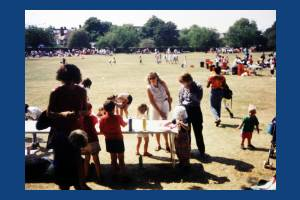 Canons Park, Mitcham, National Playday.