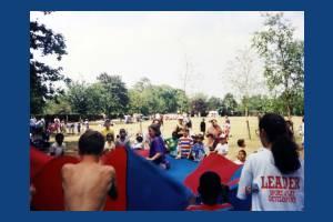 Canons Park, Mitcham, National Playday.
