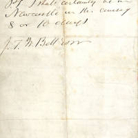 George Stephenson to JTW Bell p2