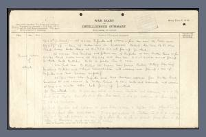 War Diary Extract for 2nd Battalion, Seaforth Highlanders, Frank Henn