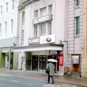 Classic Cinema and Cherrys Nightclub, High Town, Hereford c1990