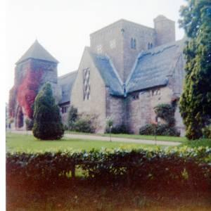 All Saints Church, Brockhampton, exterior, 1984